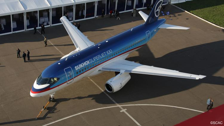 Russia jet maker Sukhoi moves to sell its Superjet 100 jets