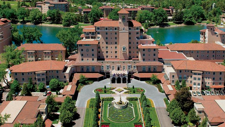 The Broadmoor Hotel In Colorado Springs Is One Of Four Hotels On A New List