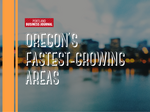 Here are Oregon's 25 fastest-growing areas