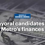 Mayoral candidates weigh in on Nashville's 'fiscal challenges'