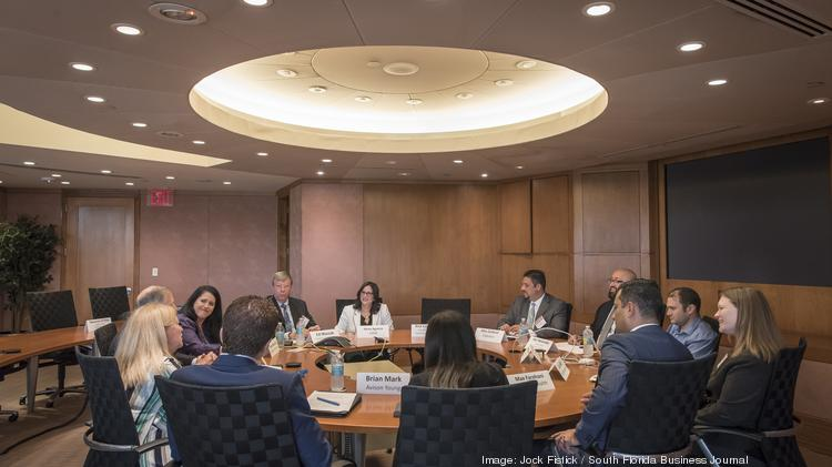CFOs from 10 South Florida companies gathered at Randstad Professionals in Fort Lauderdale on May 4 for the latest event in the Business Journal's Roundtable Series.