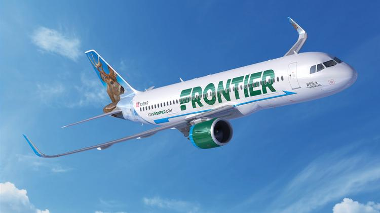 Frontier Airlines Inc To Launch Nonstop Flights 5 Cities