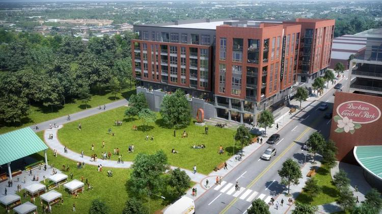 Stalled Project Next To Durham S Central Park To Begin Site Work