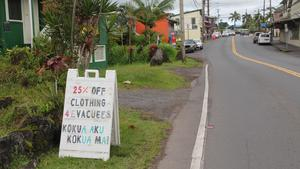 Pahoa businesses struggle with fiscal disaster from Big Island lava activity