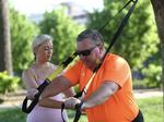 TRX in the park, anyone? Join me on a journey toward better health