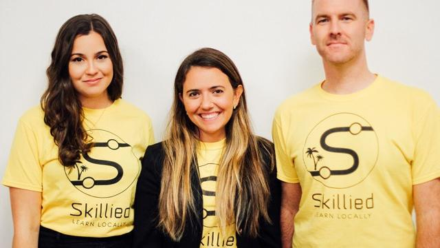 Skillied, an online marketplace for workshops and classes