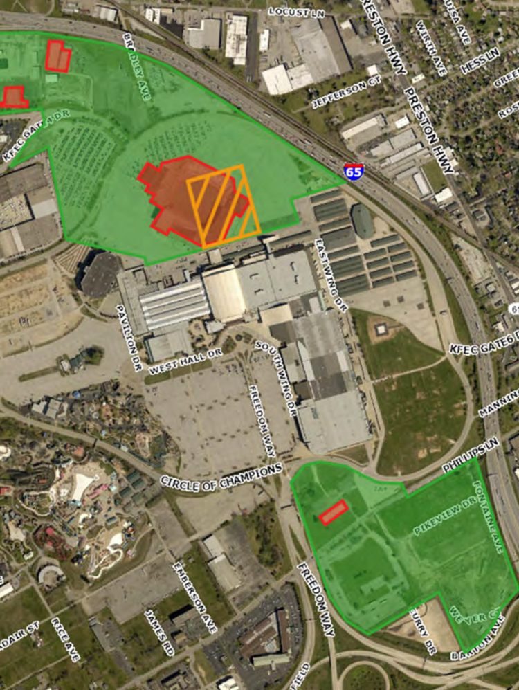 Kentucky cabinet wants redevelop 133 acres at exposition center ...