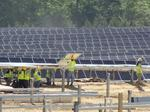 Canadian subsidiary building major solar project near Concord