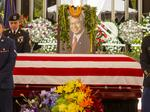 Hundreds of mourners gather to pay final respects to late U.S. Sen. Daniel Akaka (Slideshow)
