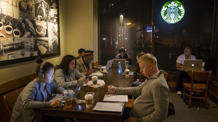 A new policy at Starbucks: People can sit without buying anything