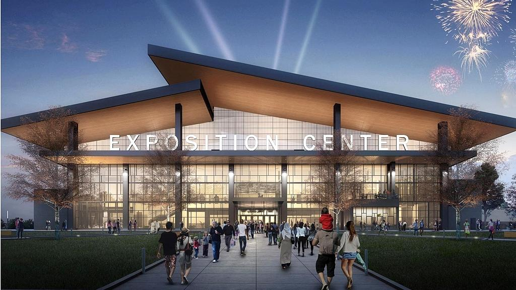 See New Renderings Of The 62 Million Nys Fair Expo Center