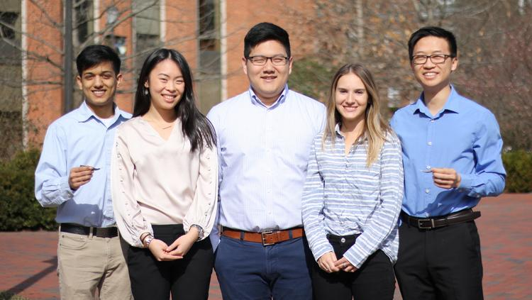 Johns Hopkins students worked with doctors to improve eye
