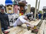 Ryan Braun, Christian Yelich help Milwaukee Habitat for Humanity kick off building season: Slideshow