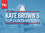 Meet Gov. Kate Brown's star-studded (and PAC-heavy) donors