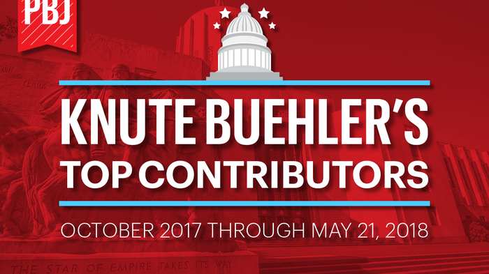 Here are the 26 biggest donors to Knute Buehler's campaign