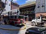 Cincinnati Fire Department responds to fire at Boca restaurant downtown