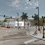 Building design updated to include themed rooftop bar near Orlando City Soccer Stadium