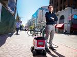 Berkeley-based Kiwi Campus says its robots may hold the key to disrupting food delivery