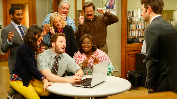 Amy Poehler jokes about 'Parks & Rec' reunion