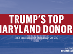Dan Snyder, Mitzi Perdue among Maryland's biggest donors to Trump campaign
