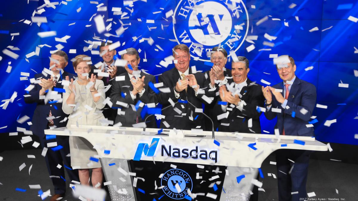 Hancock Whitney Bank Makes Name Change Official Tampa