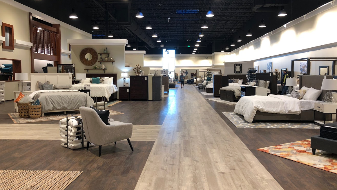 Massive furniture store Living Spaces opens north of ...