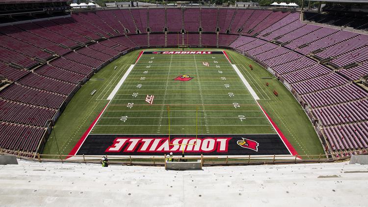6aa232e526e Changing the name of Papa John s Cardinal Stadium may be harder than ...