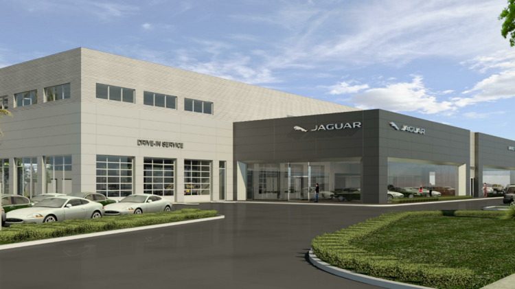 warren henry automotive group seeks to build expanded jaguar land
