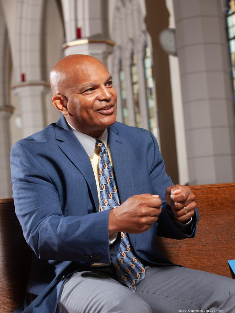 The Rev. George Nicholas, pastor at Lincoln Memorial United Methodist Church in Buffalo, is on the African-American Health Disparities Task Force and the Greater Buffalo Racial Equity Roundtable.