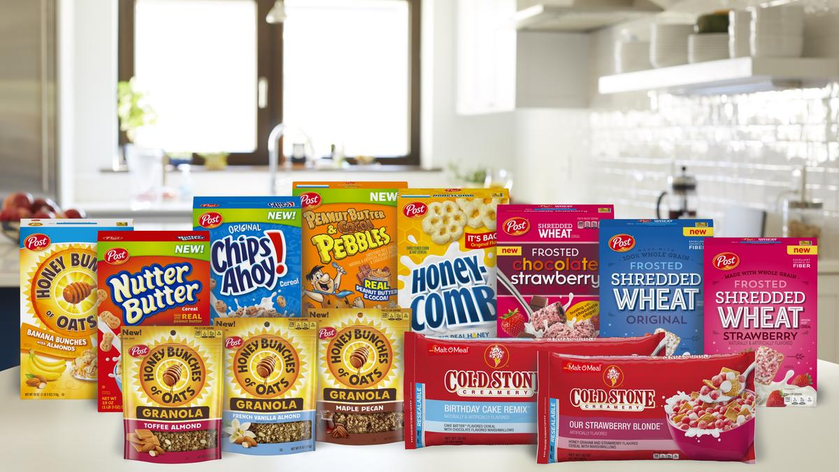 Like Cereal That Tastes Ice Cream Cookies Or Cake Post Consumer Brands Has Some New Ones For You