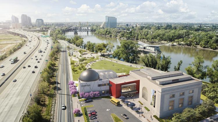 Powerhouse Science Center begins construction - Sacramento