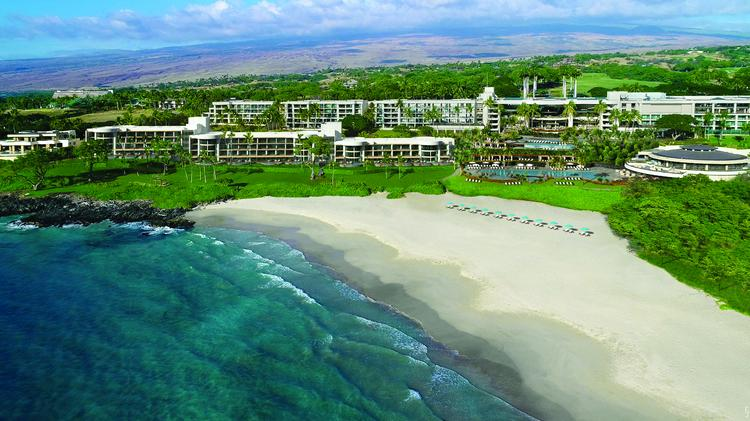 An Aerial View Of The Hapuna Beach Resort And Residences Project At Mauna