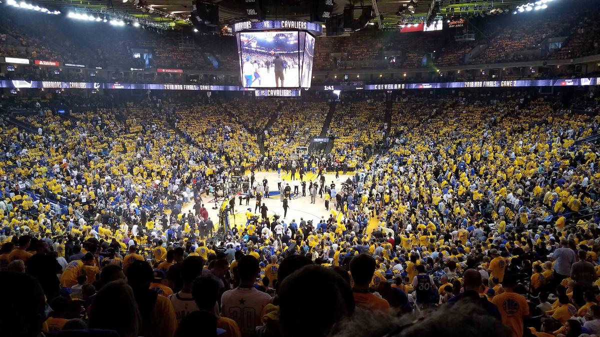 b1b1af72b1f9 NBA Finals: What it costs to see the Warriors host the Cavaliers ...