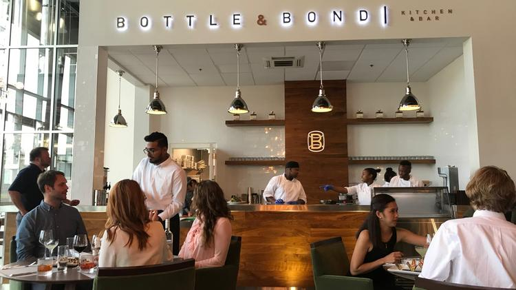 Bardstown Bourbon Co Says Its Bottle Bond Kitchen And Bar Is The First Full