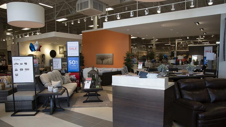 Outstanding Morris Furniture Adds Ashley Homestore In Reynoldsburg Home Interior And Landscaping Palasignezvosmurscom