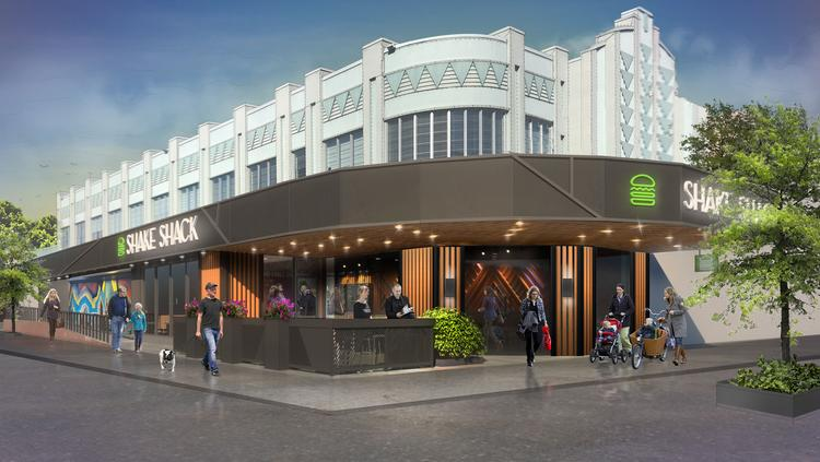 A Rendering Of The Shake Shack Coming To Easton Town Center In Early 2019