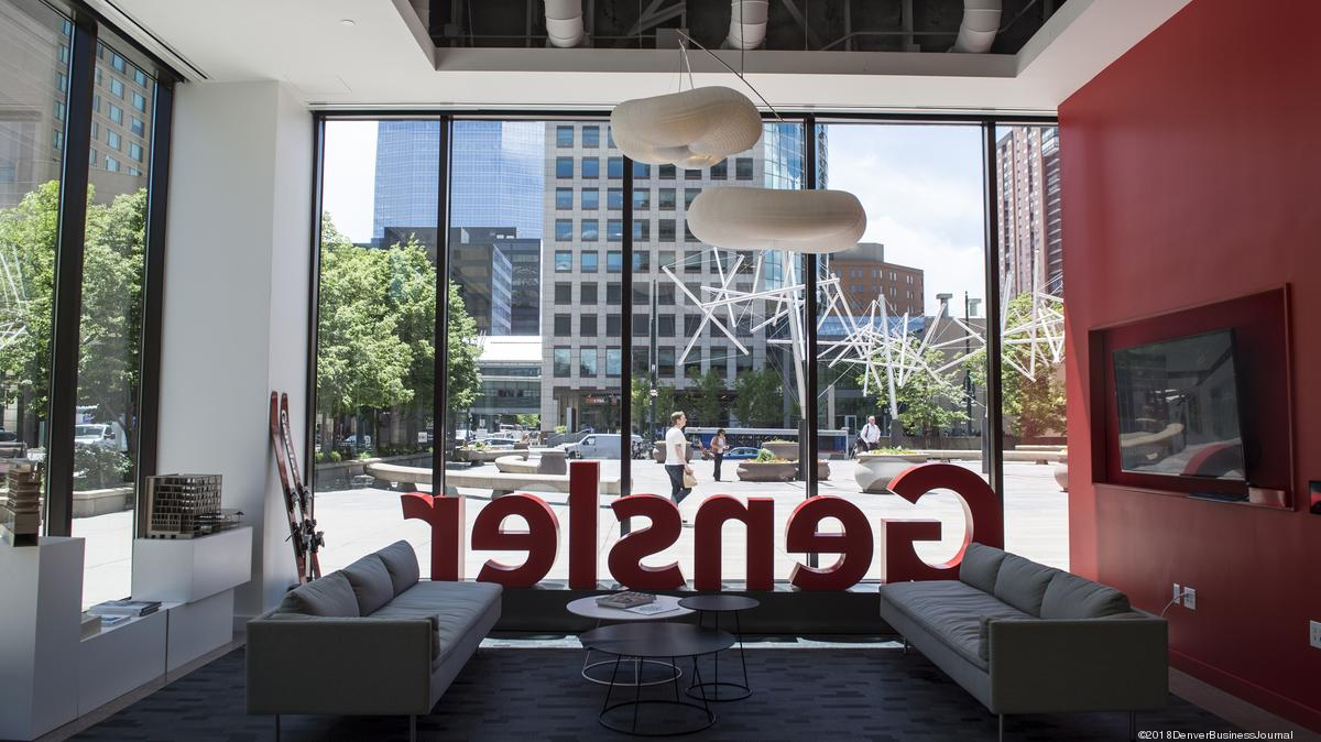 Dbj offices tour gensler 39 s denver design studio video for Office design denver