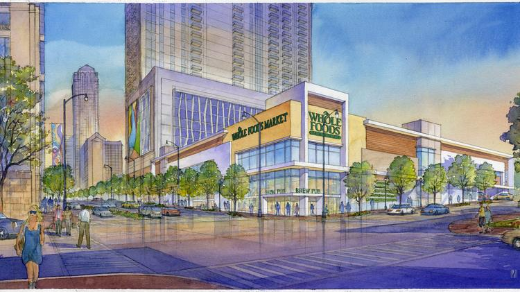 midtown s flagship whole foods market to begin build out photos