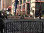 Tight security but little protest at shale conference