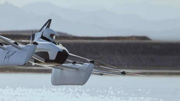 Alphabet CEO Larry Page's flying car startup, Kitty Hawk, is