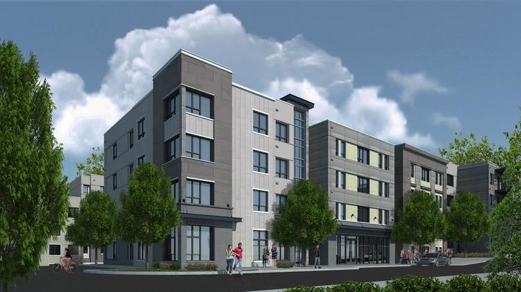 Rendering Of An 850 Bed Student Housing Project At 425 Hillsborough St. In  Chapel