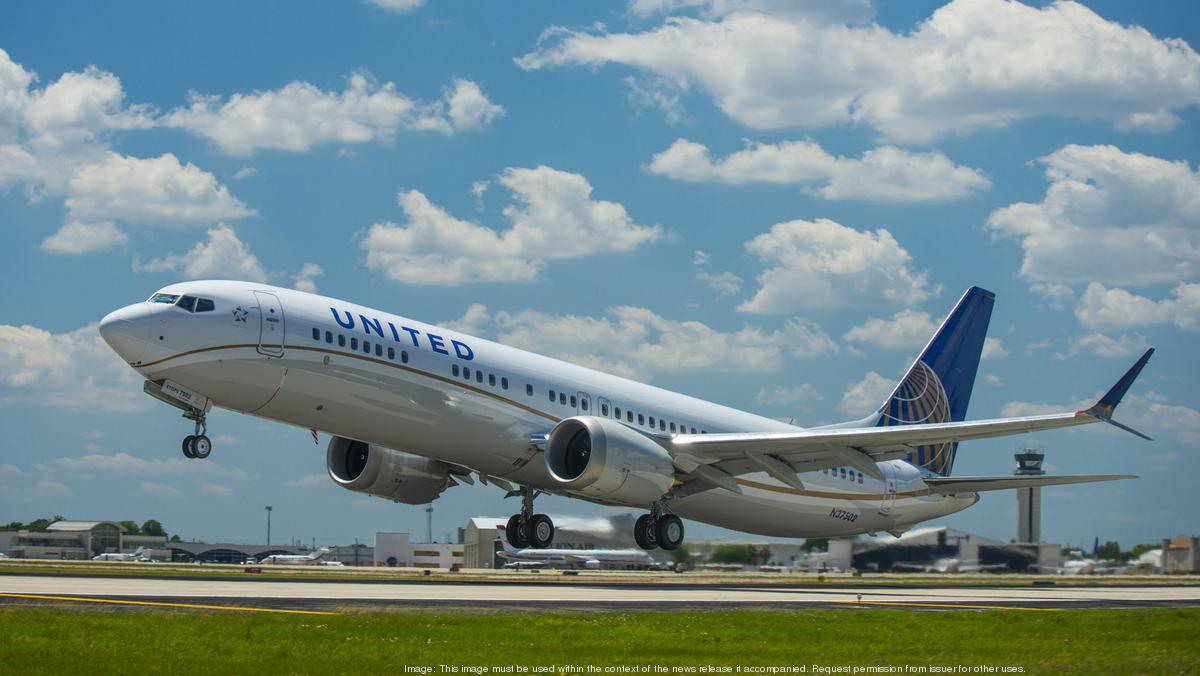 United Airline S New Boeing 737 Max 9 Takes First Flight