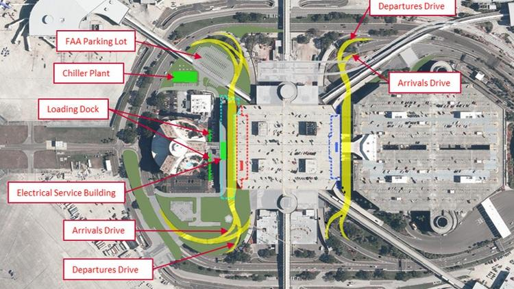 tampa international airport car rental map - carports garages