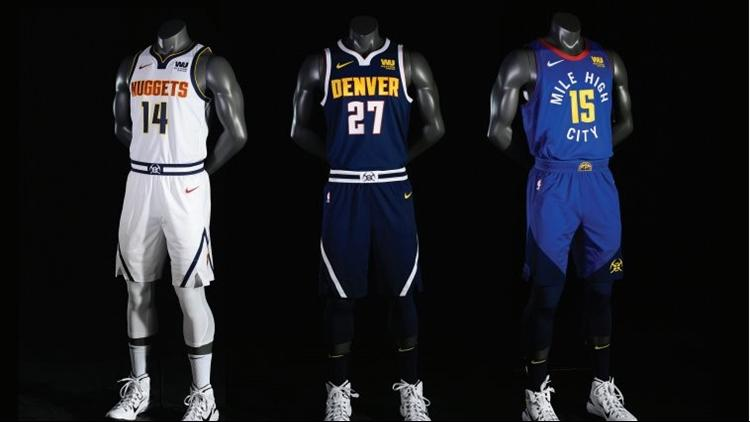 Denver Nuggets unveil new logo, jerseys - Denver Business ...