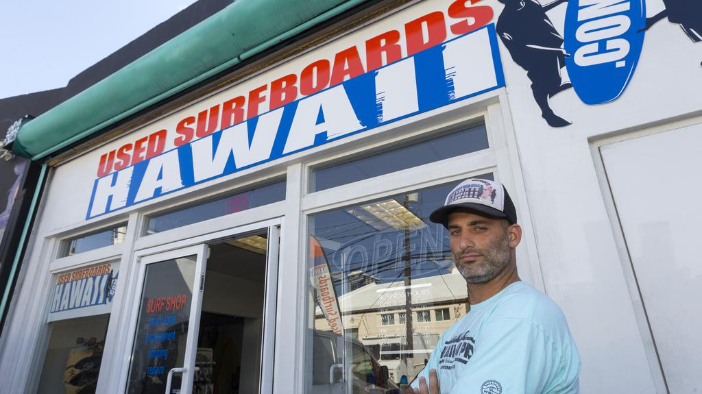 Small Business Catching A Second Wave With Used Surfboards Hawaii