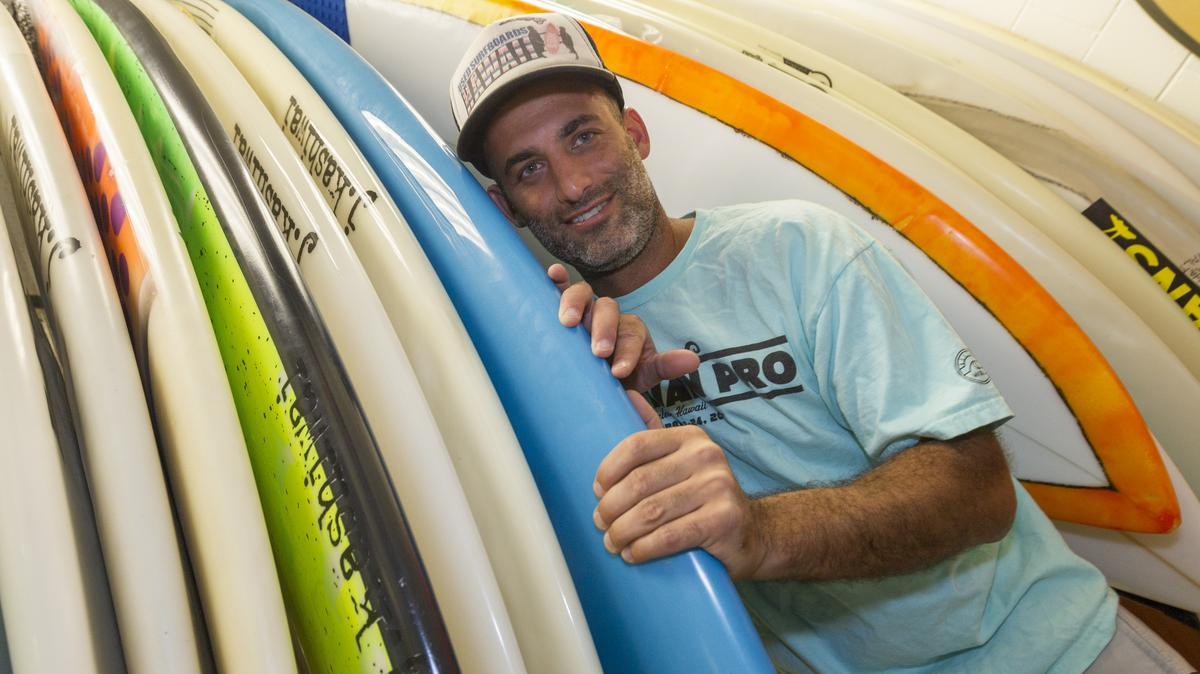 Small Business: Catching a second wave with Used Surfboards