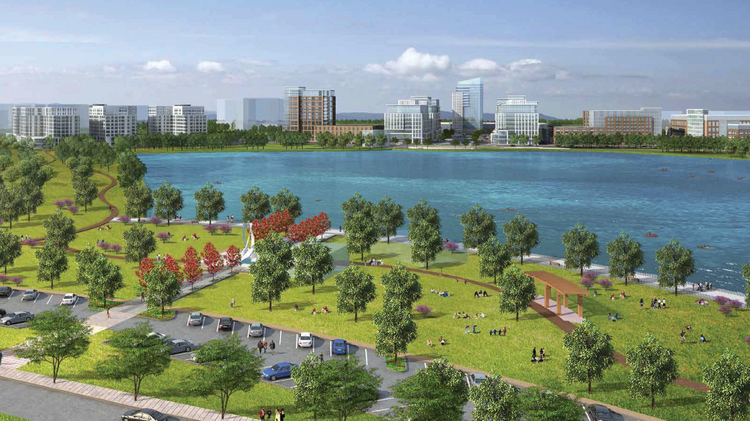 Amazon Web Services Under Contract To Acquire Part Of Waterside In