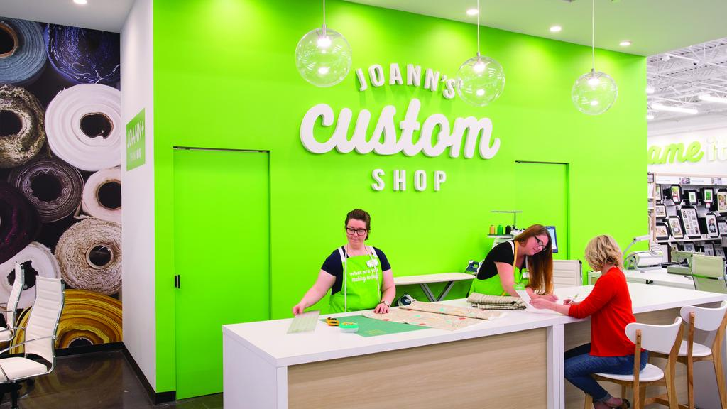 New Test Store From Joann Opening At Polaris Thursday Columbus Interesting Joann Rolling Sewing Machine Tote