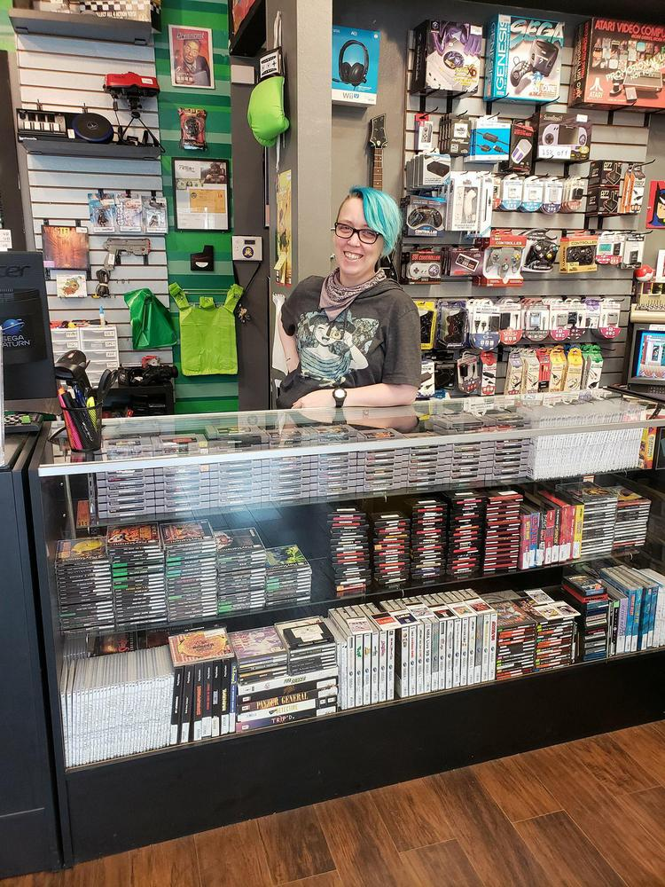 Kat Huffman Is The Co Owner Of Regen A Retro Video Game
