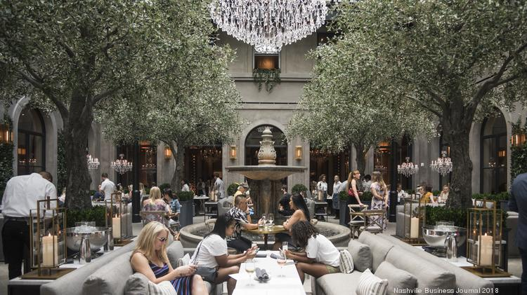 Photo Tour Go Inside Restoration Hardware S New Four Story Gallery In Green Hills